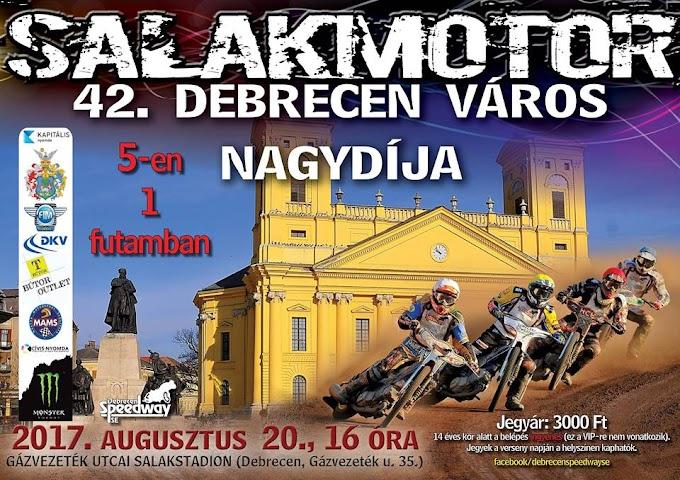 42. Debrecen Város Nagydíja