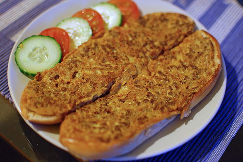 Roti John - Which is a superb french loaf with Asian flavor - Easy to make dish if you follow the recipe. It originated in Sembawang, Singapore