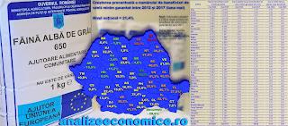 Topul județelor după creșterea numărului de asistați social în ultimii 5 ani