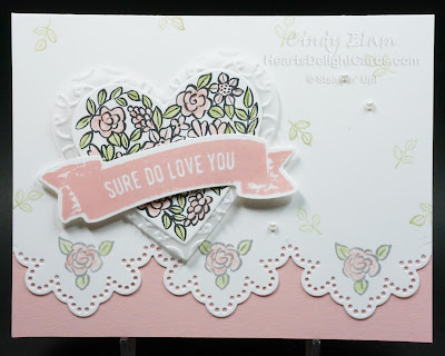 Sure Do Love You, Heart Happiness, Valentine, Occasions 2018, Stampin' Up!