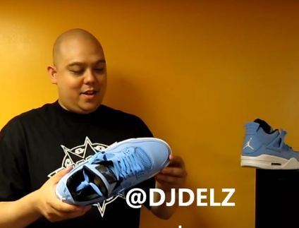 3ad37269a4872b Dj Delz is back this time showing us a pair of craaazy Unreleased Air Jordan  Pantone 4 Sample Sneakers