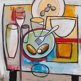 Cuadros modernos pinturas y dibujos super bodegones for Cuadros al oleo modernos para comedor