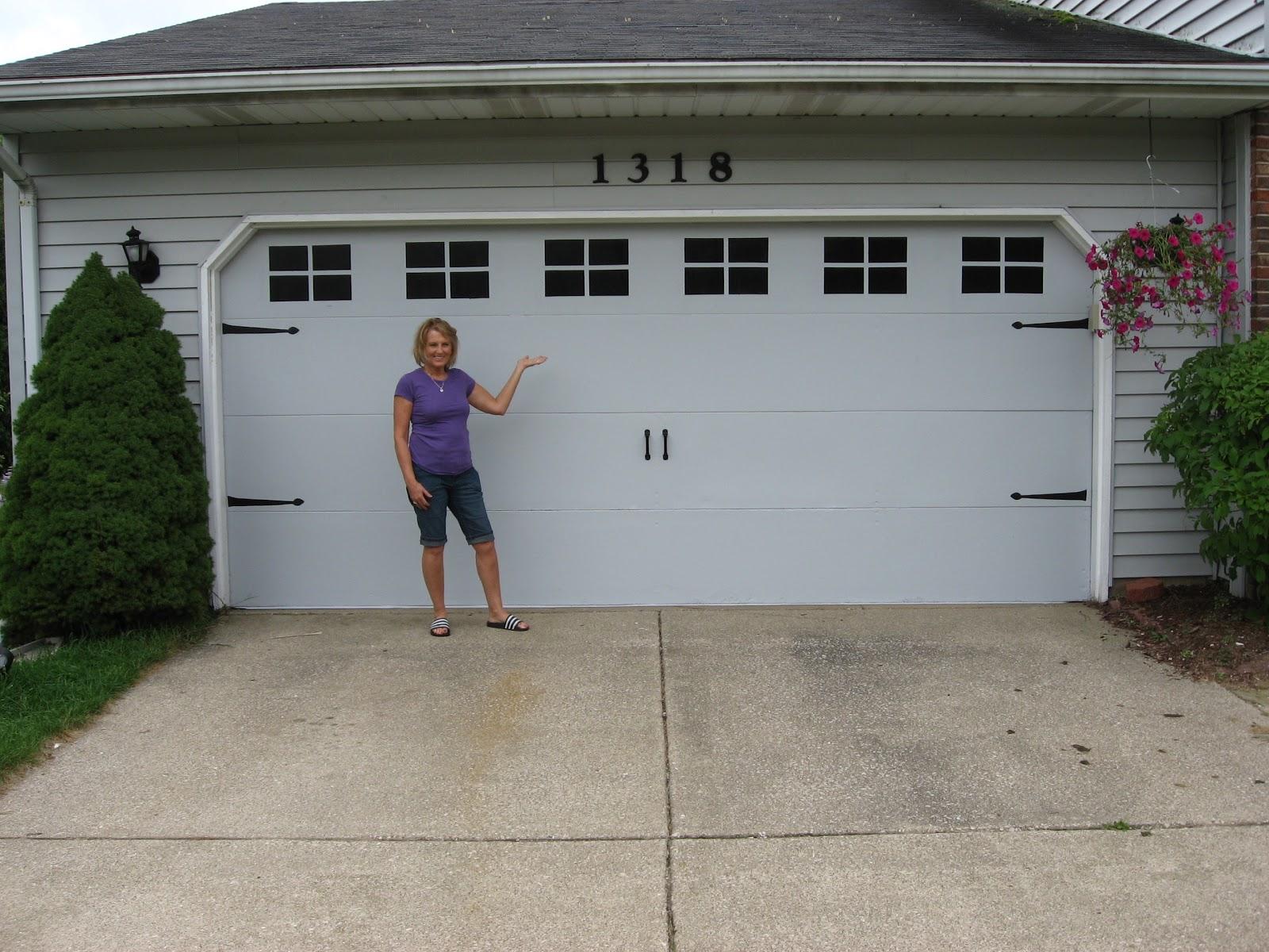 Betwixt Home and School: Faux Carriage Garage Door