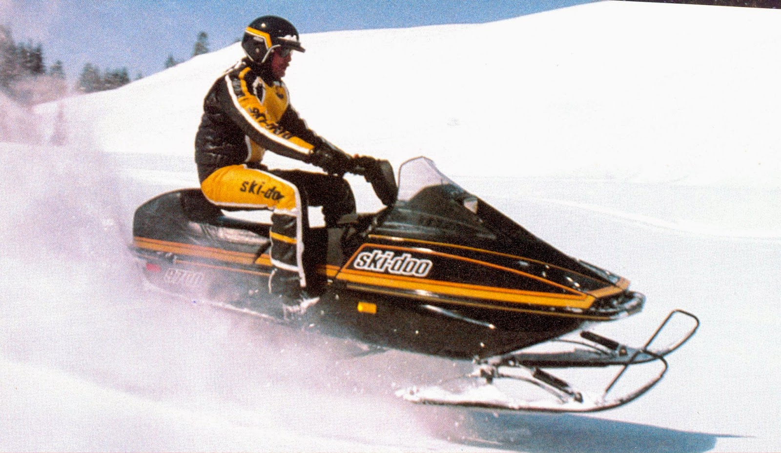 Classic Snowmobiles Of The Past 1983 Ski Doo 9700 Blizzard