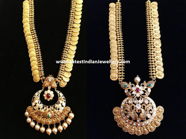 Latest Kasu Mala Designs
