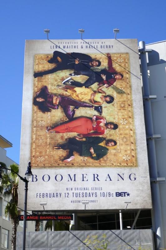 Boomerang series launch billboard