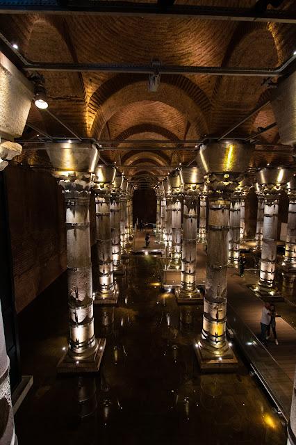 Cisterna di Teodosio-Istanbul