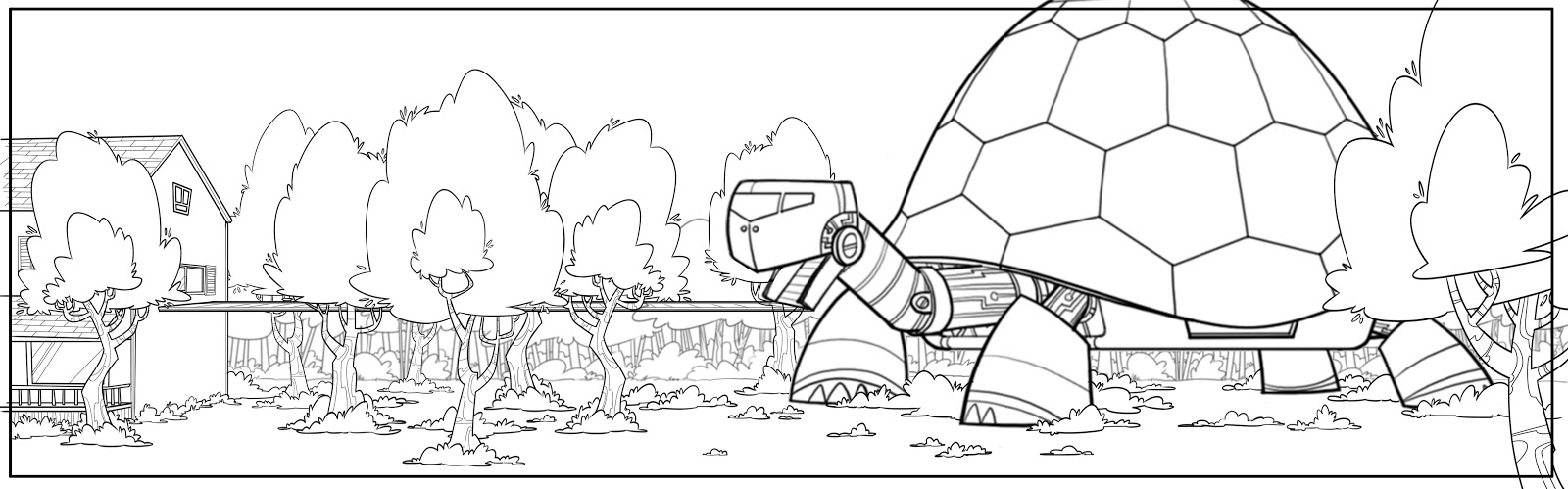 Wild Kratts Tortuga Coloring Page | Coloring Page