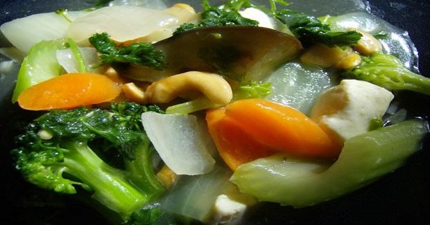 Vegetarian Chop Suey (Filipino Style) Recipe
