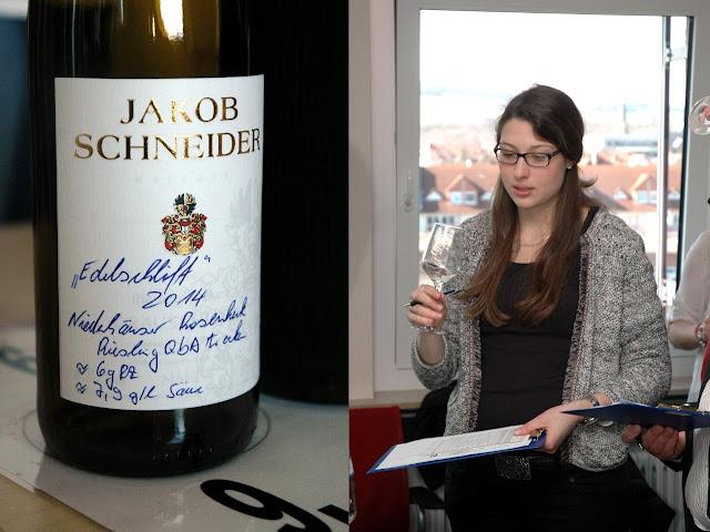 Zum Edelschliff 2015 kürte die Jury einen trockenen Riesling aus der Lage Niederhäuser Rosenheck des Weingutes Jakob Schneider aus Niederhausen an der Nahe. #Nahe #Nahewein