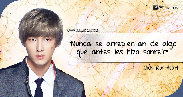 frases de kdramas click your heart 2017