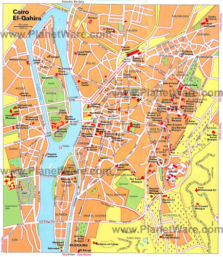 Cairo city map