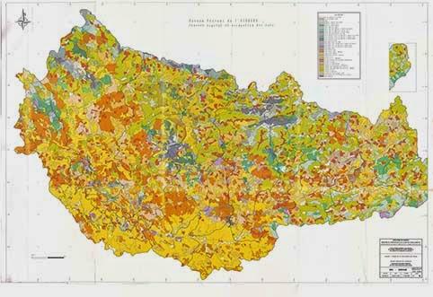 خريطة التربة  خريطة الصخارة  خريطة استعمالات الأراضي  خريطة الزراعات  خريطة حدود الأحواض الفرعية لحوض ورغة  خريطة التقسيم الإداري الجماعات و الأقاليم لحوض ورغة