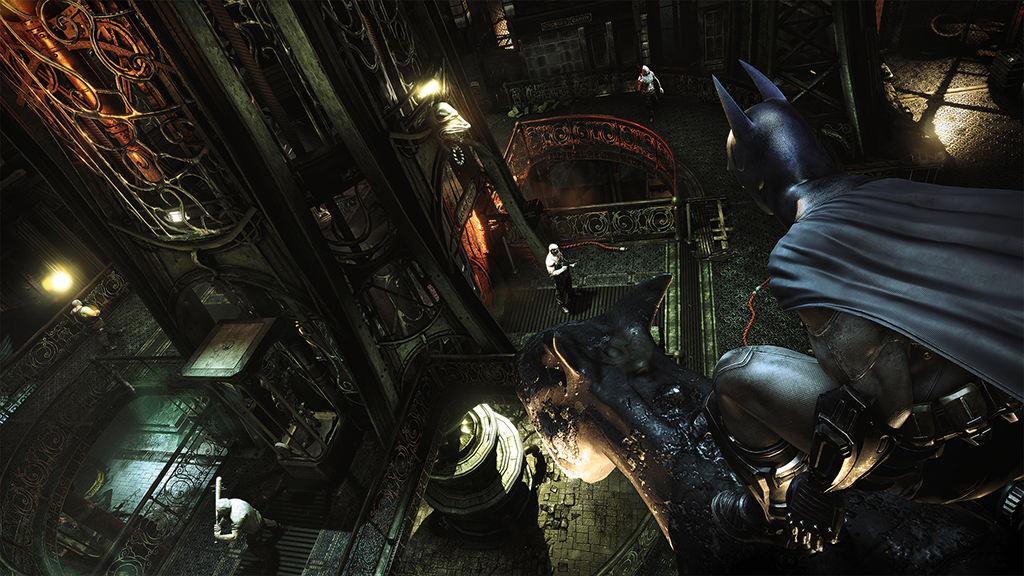 batman arkham asylum wallpaper 1080p