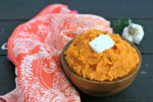 instant pot vegan mashed sweet potatoes