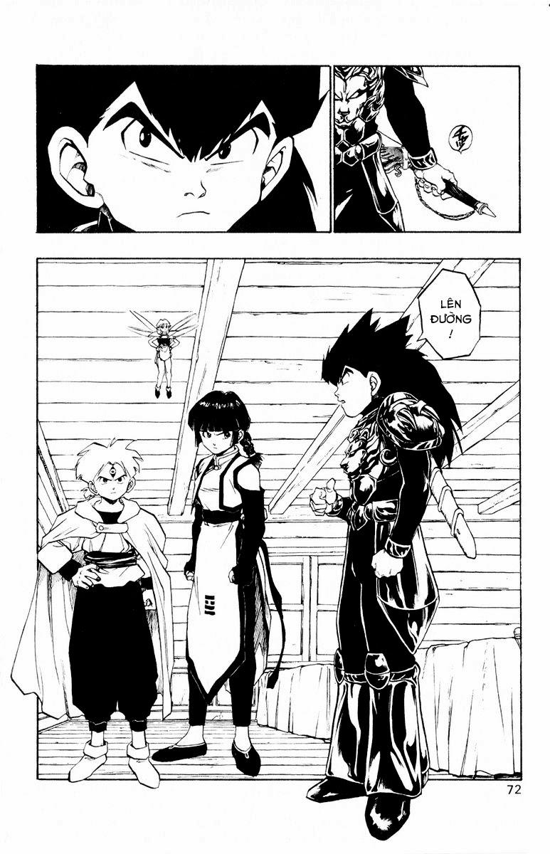Dragon Quest: Emblem of Roto chap 35 trang 22