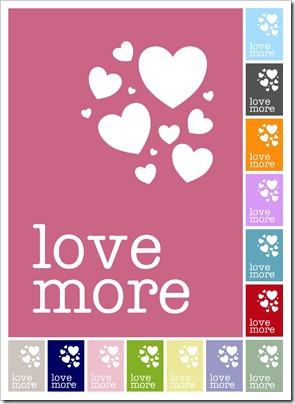 love more printable