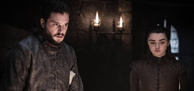 Jon Snow (Kit Harington) está bem cotado entre o público de Game of Thrones; Arya (Maisie Williams), nem tanto