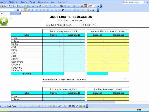 HERRAMIENTAS INFORMATICAS - formato inventario en excel
