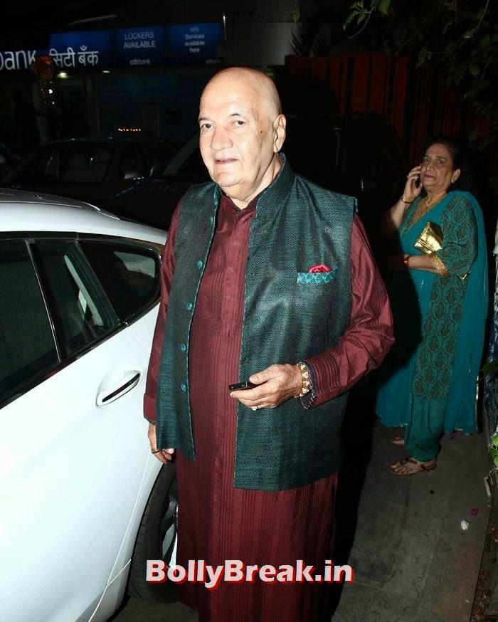 Prem Chopra, Photos from Amitabh Bachchan's Diwali Bash 2014