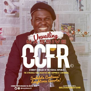Comedian Official Massive rebrands, now to be known as Massive CCFR