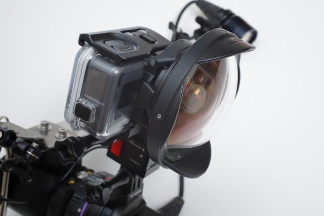 INON SDフロントマスクとセミフィッシュアイコンバージョンレンズ UFL-G140 SD