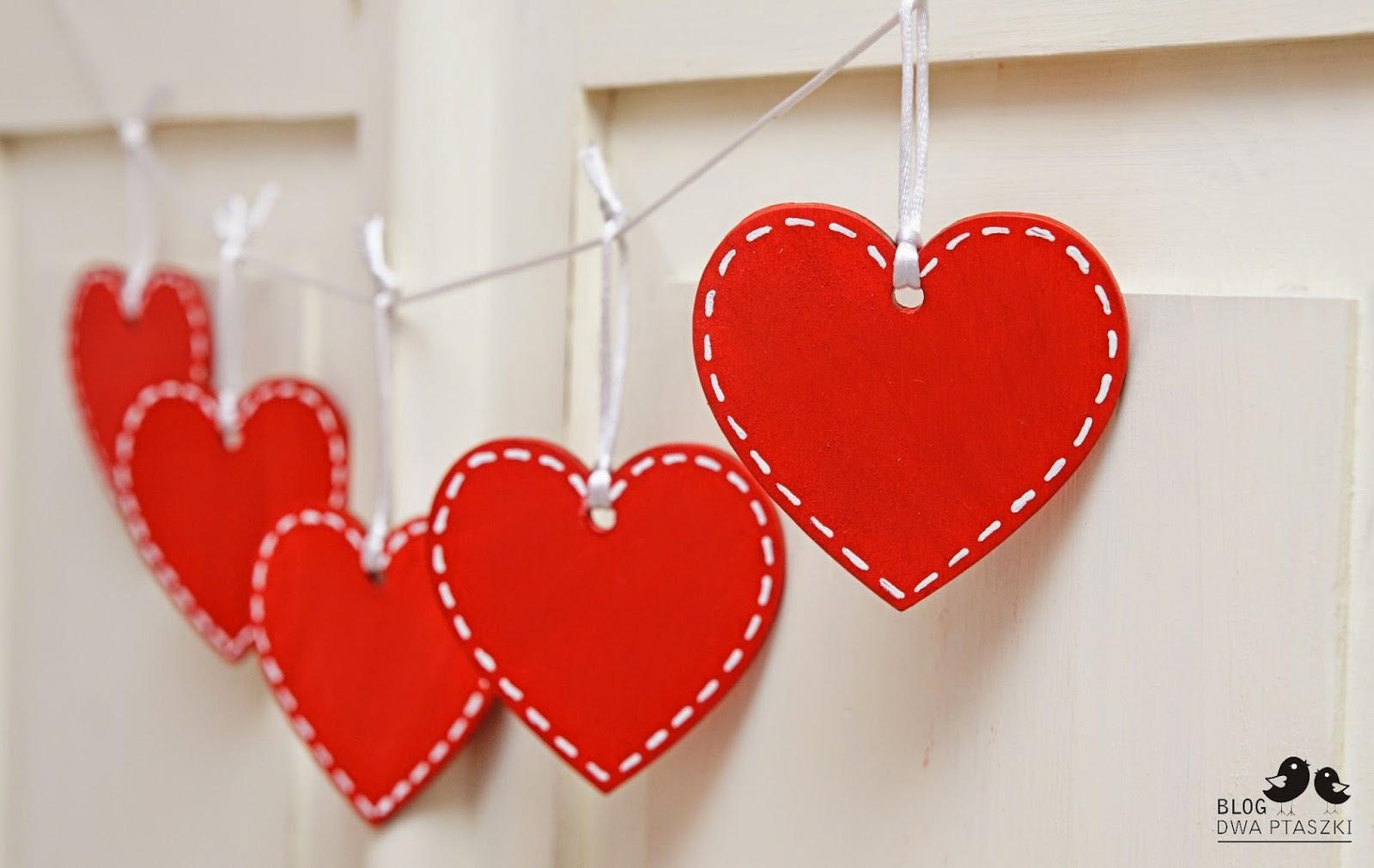 Dekoracje Na Walentynki Czerwone Serca Handmade Zblogowani
