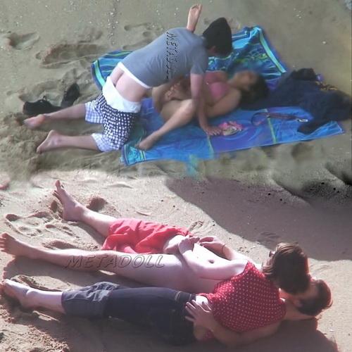 Beach Safaris Sex 21-22 (Fucking on beach voyeur)