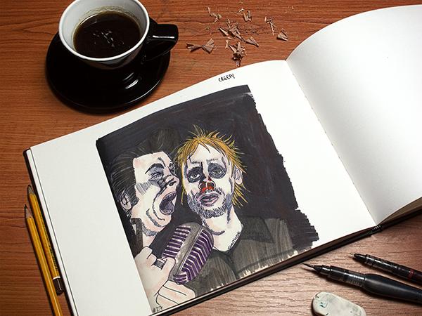 Muse Inktober 2016 por Pegotiblog - Sara Torregrosa - Illustration comic ilustración