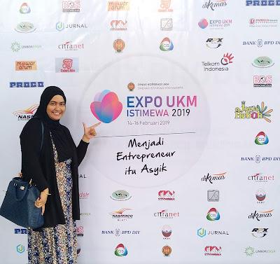 Expo UKM Istimewa Dinas Koperasi UKM DIY