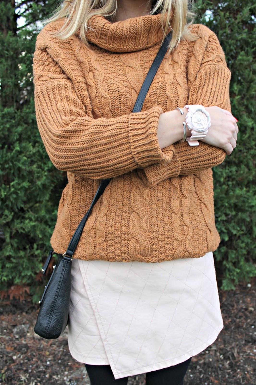 dresslink khaki sweater