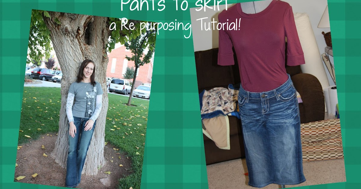 Jeans To Skirt Tutorial 107