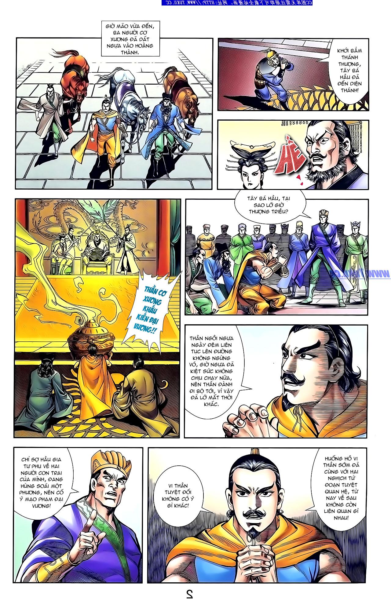Cơ Phát Khai Chu Bản chapter 132 trang 10