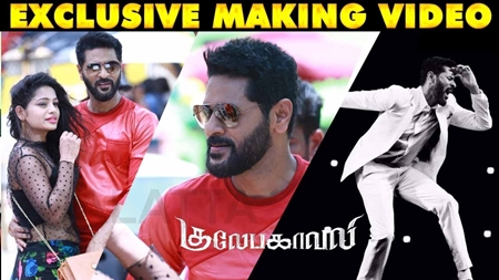 Gulaebaghavali Making Video | Prabhu Dheva, | Hansika Motwani I Exclusive