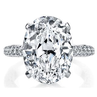 Oval Diamonds: Round's Sparkle and Added Advantage