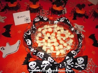 Margaret's Morsels | Halloween Bones