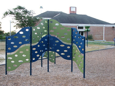 Barnstable Community School Climbing Wall