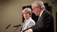 UK prime minister Theresa May meets European Commission president Jean-Claude Juncker (Photo Credit: Number 10) Click to Enlarge.