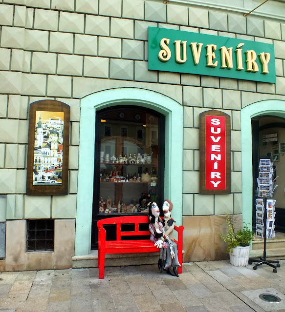 Decoración de las tiendas en Bratislava