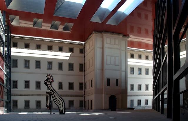 Museu Nacional Reina Sofia em Madri