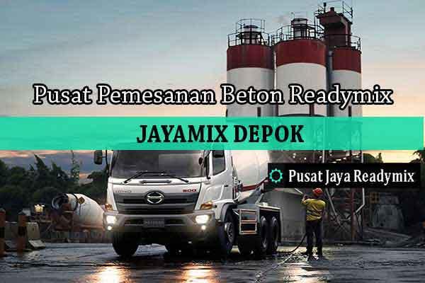 Harga Beton Jayamix Bojongsari 2019