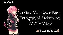 Anime Girl Render Wallpaper Pack - Part 05