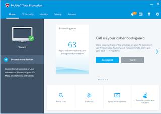تحميل برنامج الحماية McAfee Total Protection