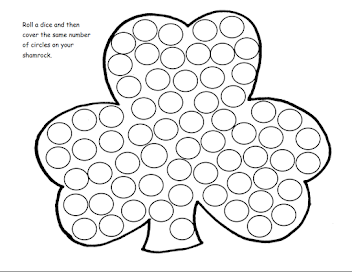 Sign up to receive our newsletter and get our Roll and Cover Clover Printable Free!