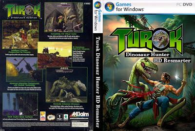 Jogo Turok Dinosaur Hunter HD Remaster PC DVD Capa