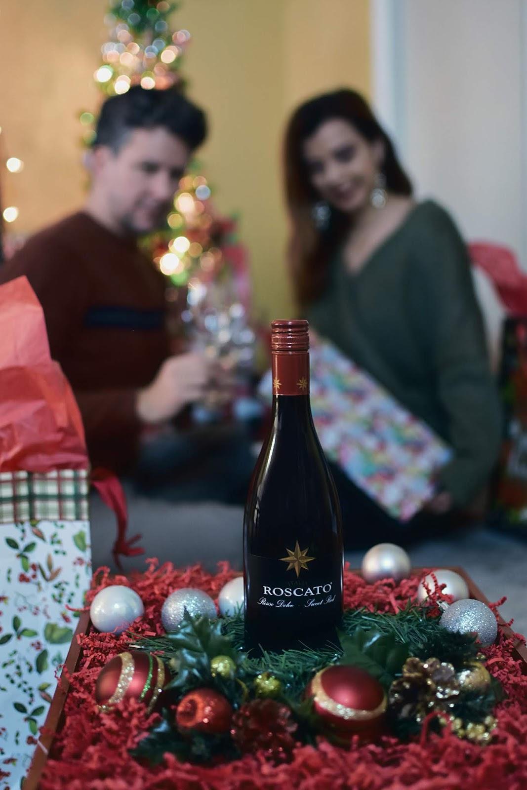 Sweeten Up The Holidays by Mari Estilo-Roscato Wine-Los Chuchis-DCBlogger-Navidad-Noche Buena-