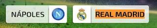 partido en directo Napoles vs Real Madrid martes 7 de marzo de 2017