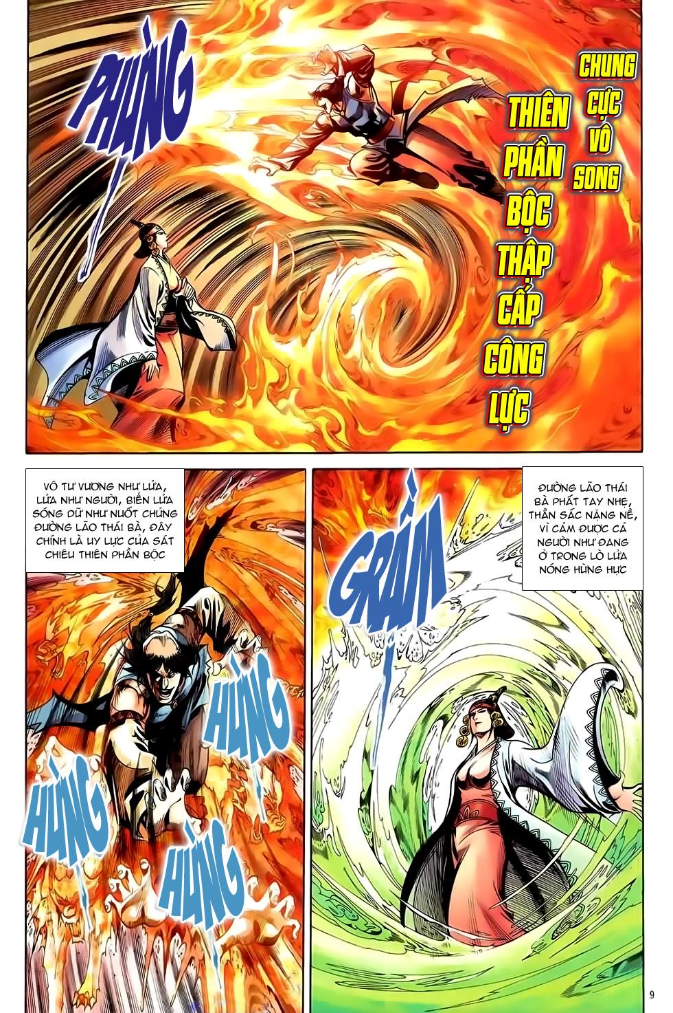 Đại Hiệp Truyền Kỳ (Thần Châu Hậu Truyện) chap 51 - Trang 8