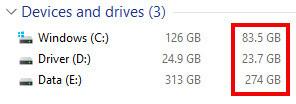 Kapasitas Hard Disk dan sisanya