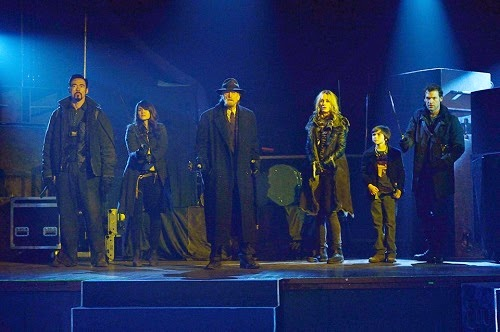 Kevin Durand, Mia Maestro, David Bradley, Ruta Gedmintas, Ben Hyland and Corey Stoll in FX The Strain Season 1 Finale The Master